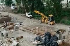 kartarpur corridor construction work