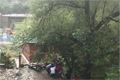 landslide in sadhupul