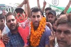 amarjit wins gold in kabaddi world cup won gold for country
