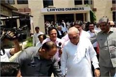 manesar land scam hooda and other accused in court got next date