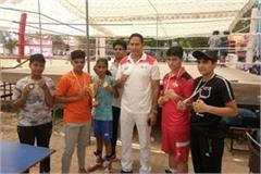 jhajjar daughters won three gold two bronze and one silver medal in boxing