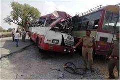 roadways bus bribe 3 killed many mourns yogi expresses mourning