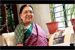 anandiben patel to be sworn in as up governor on monday