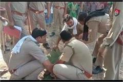 gorakhpur women killed by pressing
