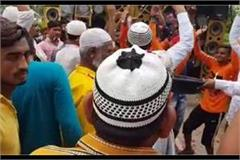 ayodhya a glimpse of the visible brotherhood in kawand yatra