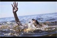 rae bareli 2 youths drowning while bathing in river lon death