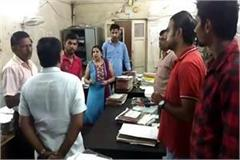 mayor madan chauhan inspected in yamunanagar corporation office