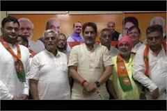 inld and jjp leaders joined bjp in rohtak