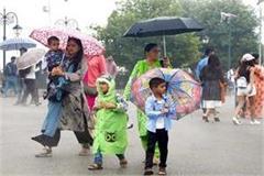 heavy rain warning in himachal