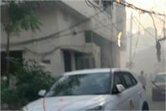 the new car burnt by sparking in electric wires was purchased two days ago
