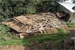 kullu rain house demolished