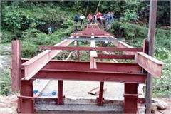 bridge in jamrela village