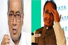 there is no dust on nehru s feet shivraj digvijay singh