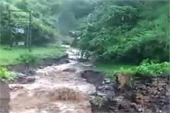heavy rain in bahawan region of rajgarh