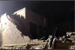 two storey building collapsed in rabupura noida two children died