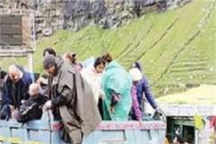 200 tourist rescue at lahaul spiti