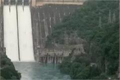 bhakra dam flood gate