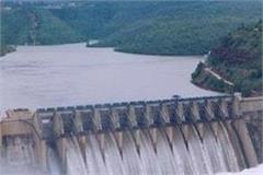 bhakra floodgates half closed