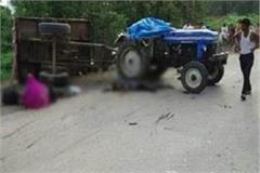 uncontrolled tractor overturned with devotees 3 dead 17 injured