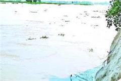 bsf bunkers affected by flood water