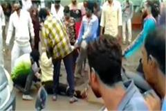 dabangs beating young man tied rope middle market 10 accused arrested