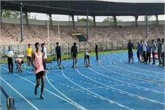 rameshwar flopped on the running track