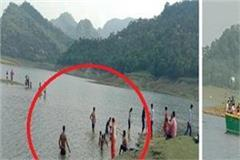 devotees immersed in gobind sagar lake despite the ban