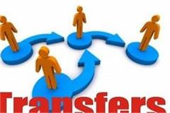 transfer of ias  hcs officers in haryana