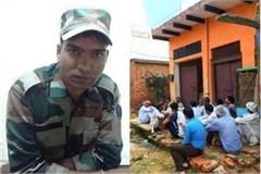 indian army soldier krishan killed in firing in meerut cantt