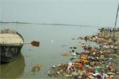 trashbot making the river pollution free