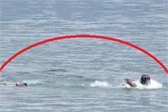 una in gobind sagar swimming