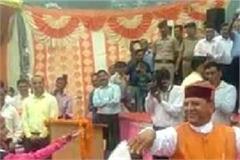 rajiv bindal dance with children on independence day celebration