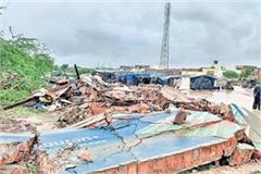8 people of jhabua died after wall falling due to heavy rain
