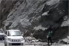 dangerous journey on the world highest road