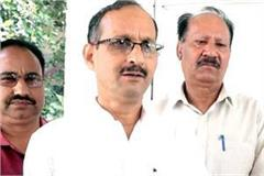 satti target on congress and mukesh agnihotri