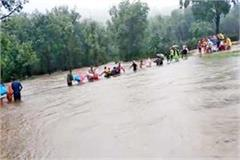 know hundreds of people trapped in the flood