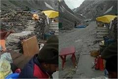 25 passengers from haryana stranded in amarnath cave