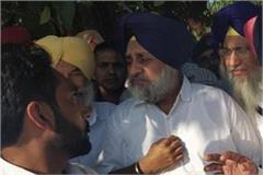 sukhbir badal visited flood affected areas