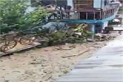 kullu sewer rain debris
