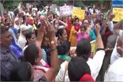 women and social organizations protest