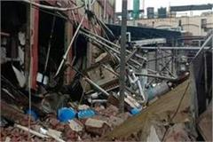 explosion in derabassi chemical factory many injured