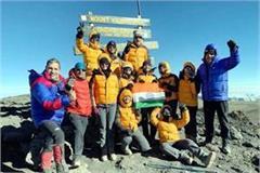 himachali daughter on peak of mount kilimanjaro
