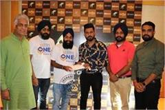 gippy grewal came forward to help flood victims