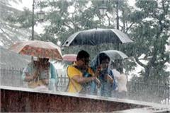 heavy rain warning in himachal