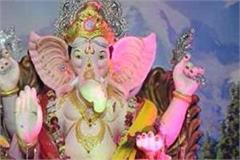 a huge ganeshotsav was celebrated in bhuntar