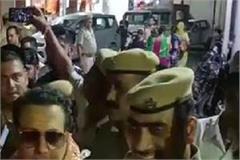 bollywood star govinda reached of maa chintpurni
