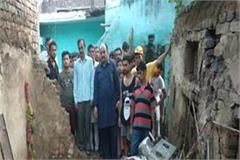 oof suddenly collapses of raw house 2 children including mother buried