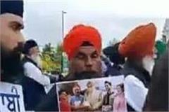protest in canada against gurdas mann