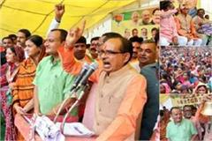 shivraj lashed out in congress said  government will not allow