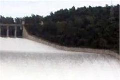 pong dam in water level
